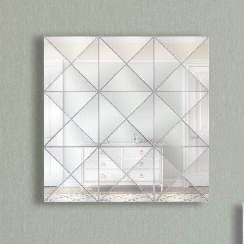 Triangle Style Three Wall Mirror
