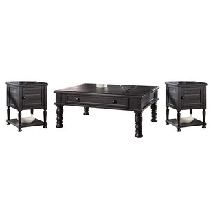 Cheap Fargo 3 Piece Coffee Table Set Laurel Foundry Modern Farmhouse