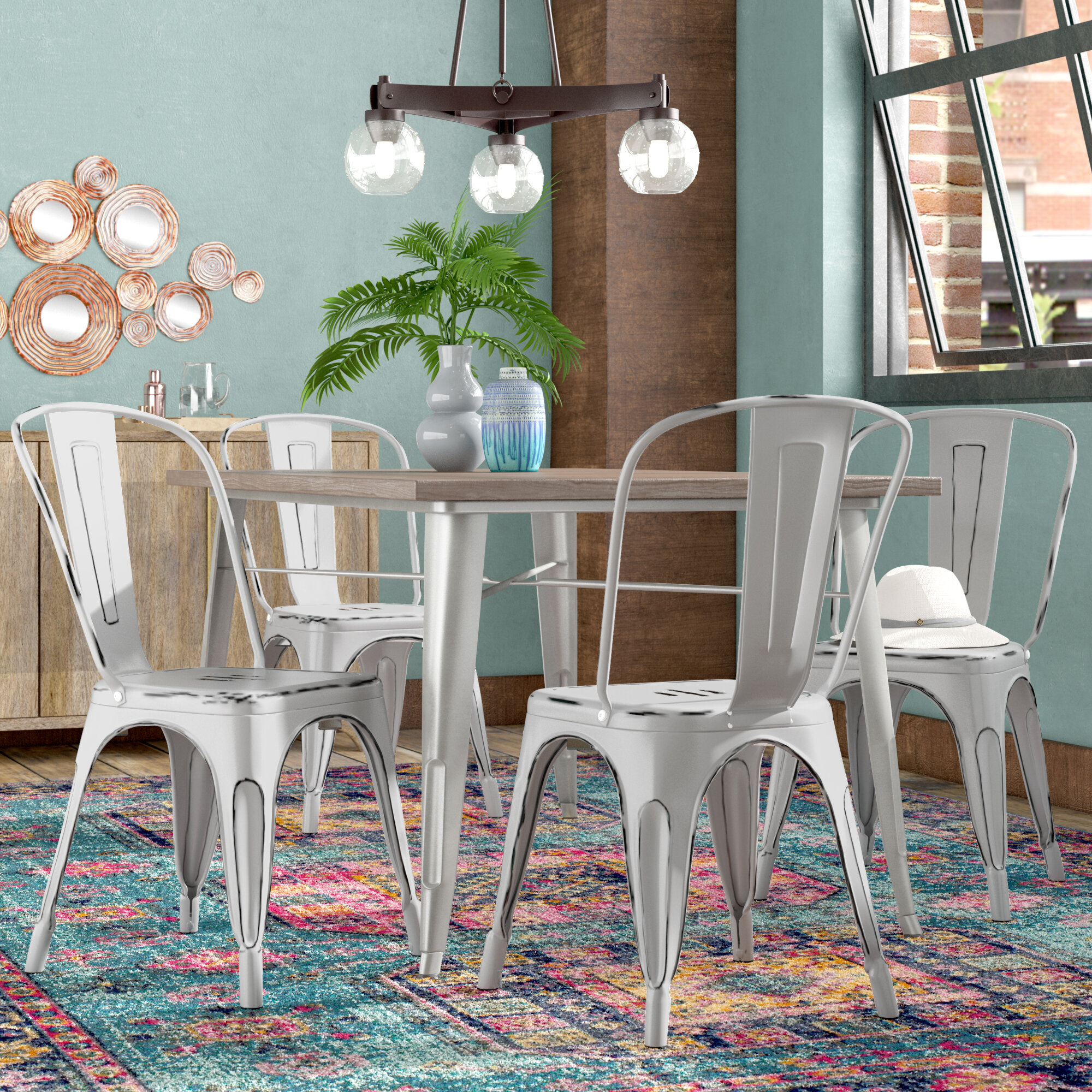 Metal Kitchen Dining Chairs You Ll Love In 2021 Wayfair