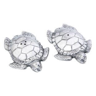 Coastal Sea Turtle 2-Piece Salt and Pepper Set