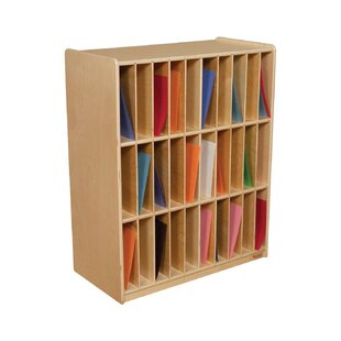 Affordable Slot Mail/Portfolio Center 30 Compartment Cubby By Wood Designs