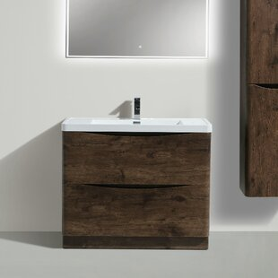 Ruelas Free Standing Modern 39 Single Bathroom Vanity Set By Wrought Studio