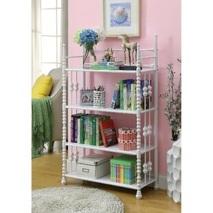 Vegard 4 Tier Metal Etagere Bookcase by Harriet Bee