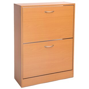 Ebern Designs 8 Pair Shoe Storage Cabinet