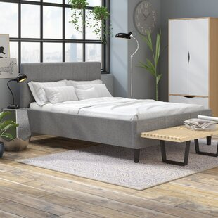 Cedeno Upholstered Bed Frame By Hashtag Home