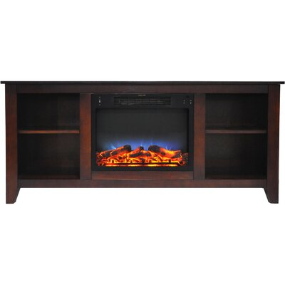 """Brook Hollow TV Stand for TVs up to 60"""" with Fireplace by Alcott Hill"""