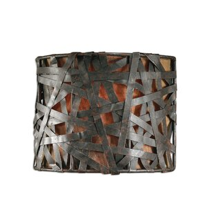 Savings Spiritwind 1-Light Naturals Champagne Wall Sconce By Trent Austin Design