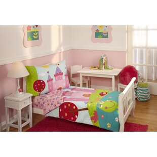 4 piece fairytale toddler bedding set - Toddler Bed Sets