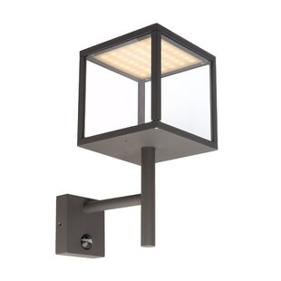 Lacertae LED Outdoor Sconce With PIR Sensor By Kapego LED