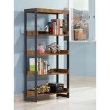 Hallsburg 59.75 H x 25.5 W Metal Etagere Bookcase by 17 Stories