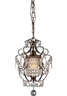 Asner 1-Light Lantern Pendant by Astoria Grand
