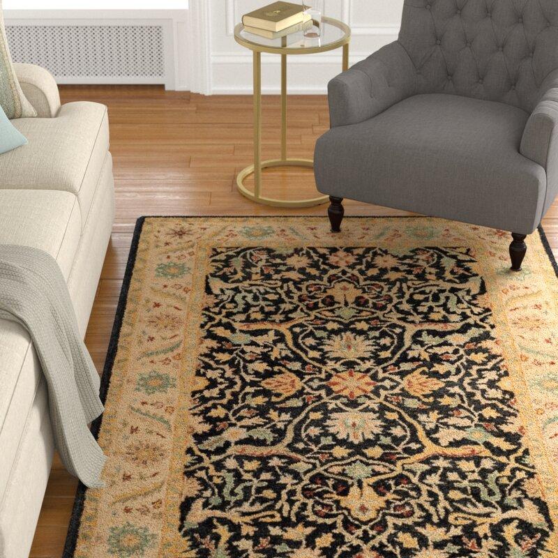 Charlton Home Dunbar Hand Tufted Wool Area Rug Reviews Wayfair