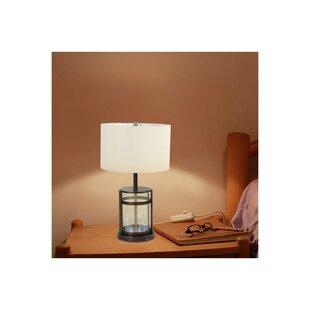 Kraft Glass Column 25 Table Lamp