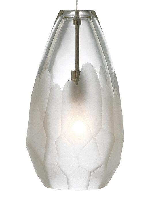 Briolette 1 light mini pendant by lbl lighting