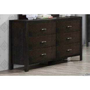 Vandenberg 6 Drawer Double Dresser
