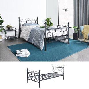 Create Cyrus Twin 2 Piece Platform Bedroom Set by 39F inc Exclusive ...