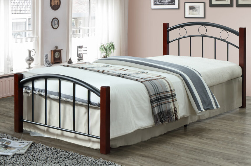 Winston Porter Morley Bronze Twin Platform Bed & Reviews | Wayfair