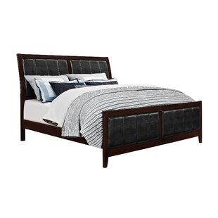 Honeycutt Upholstered Panel Bed by Alcott Hill