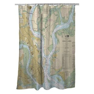 Ellisburg Charleston, SC Polyester Single Shower Curtain