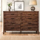 Northwich 8 Drawer Double Dresser by Three Posts™