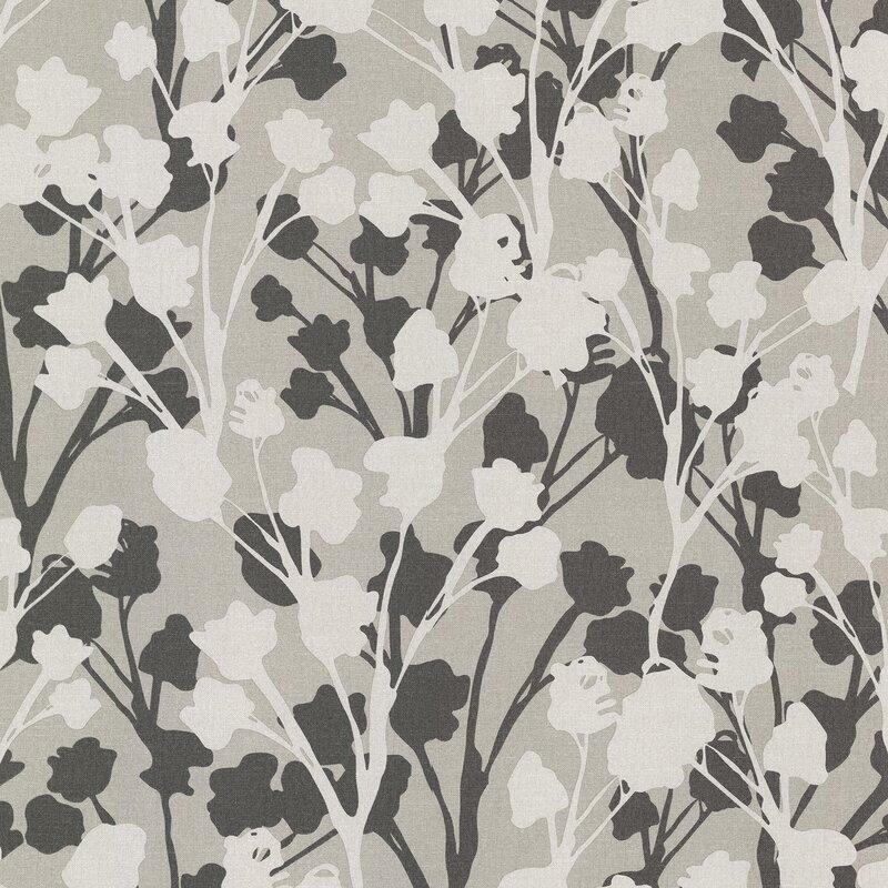 "Kitchen & Bath Resource III 33' x 20.5"" Lawson Floral Wallpaper Roll"