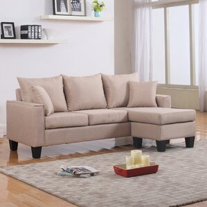 Janna Reversible Sectional by Zipcode ..