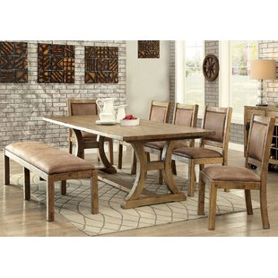 Marion 6 Piece Dining Set Loon Peak