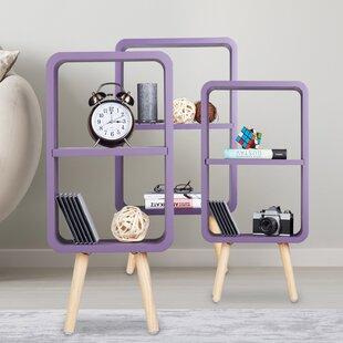 Hilma 3 Piece Bookcase Set By Mercury Row