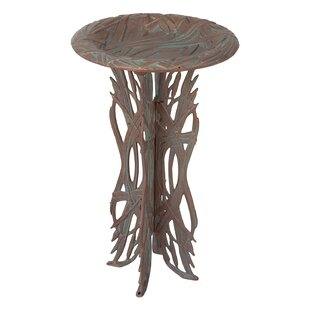 Whitehall Products Dragonfly Birdbath