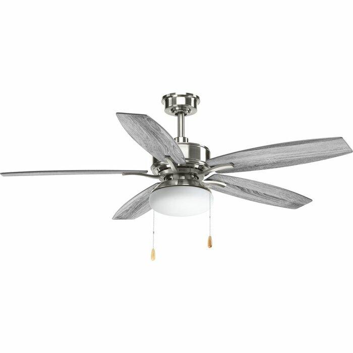 52 Segars 5 Blade Ceiling Fan Light Kit Included
