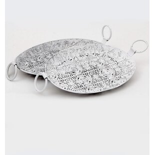 Anglo 2 Piece Accent Tray Set By Bloomsbury Market