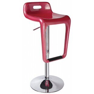 Earl Adjustable Height Swivel Bar Stool (..