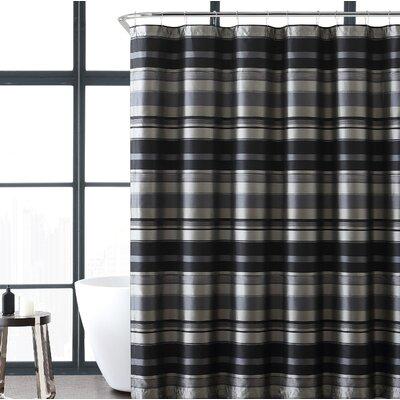 Charlton Home Heuer Stripe Single Shower Curtain