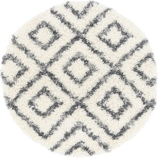 Fan Ivory Area Rug by George Oliver