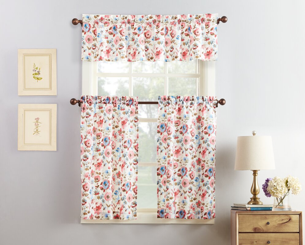 No. 918 Dora Kitchen Curtain & Reviews | Wayfair