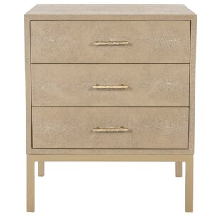 Wareham 3 Drawer Accent Chest by Mercer41