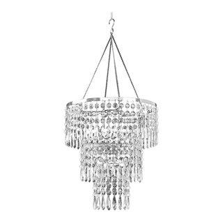 Willa Arlo Interiors Georgine 1-Light Crystal Pendant