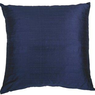 Blue Silk Throw Pillows