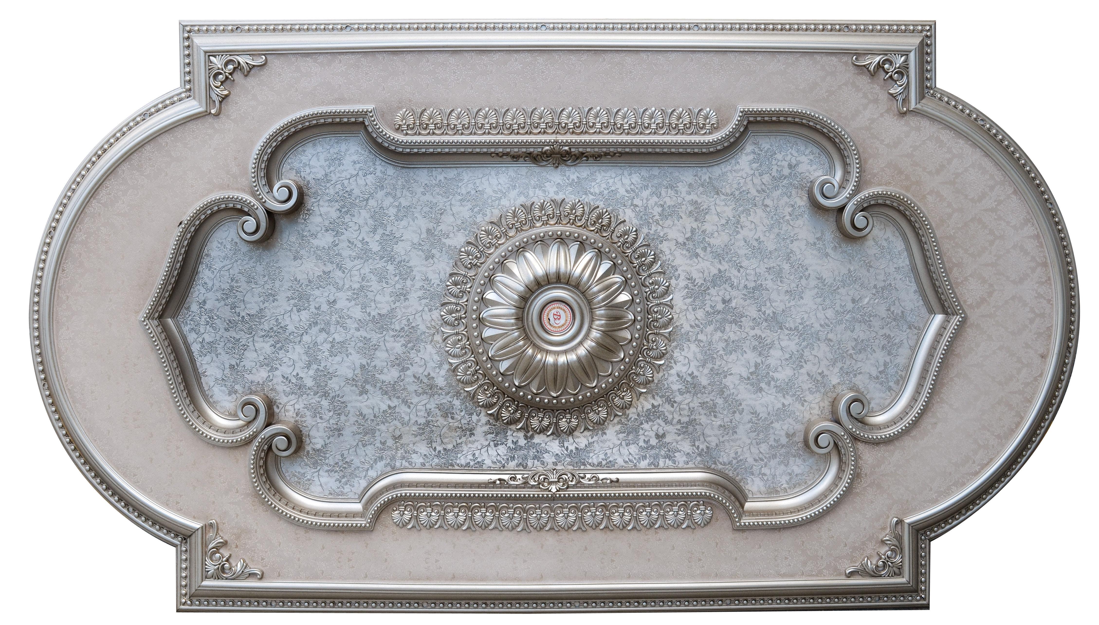 Art Frame Direct Champagne Rectangular Ceiling Medallion Wayfair