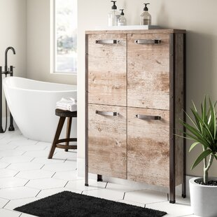 Coraline 64 X 118.8cm Free Standing Bathroom Cabinet By Williston Forge