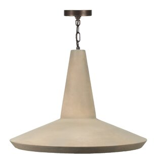 Sarreid Ltd Cement Hanging Bell Pendant