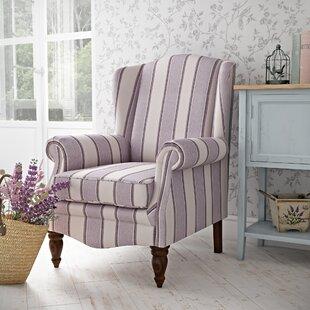 Imran Wingback Chair By Fleur De Lis Living