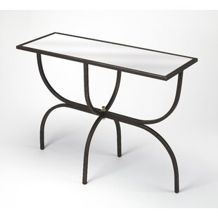 Colerane Metal And Mirror Console Table By Brayden Studio