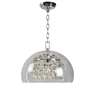House of Hampton Worthing 1-Light Inverted Pendant