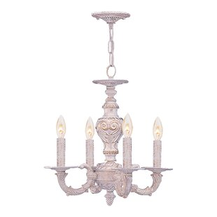Viv + Rae Odessa 4-Light Candle Style Chandelier