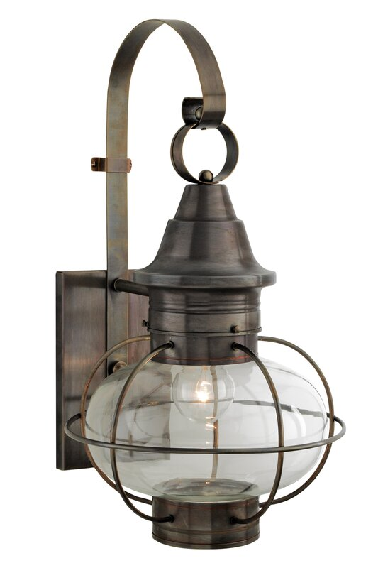 New Vidalia Onion 1-Light Outdoor Wall Lantern