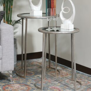2 Piece Nesting Tables by Urban Trends