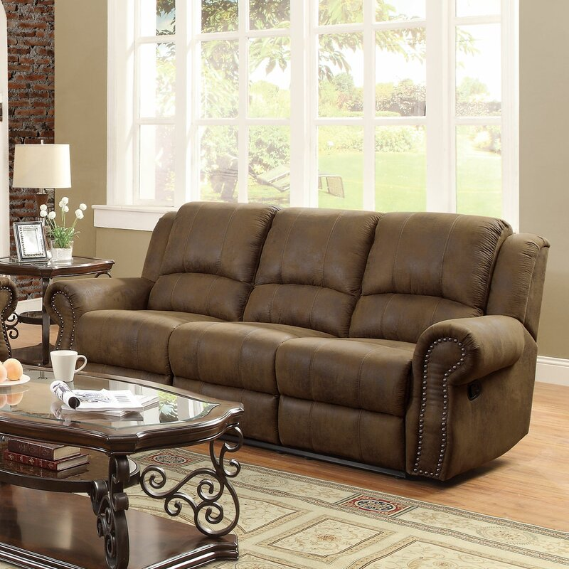 Mcmahon Reclining Sofa : brown reclining sofa - islam-shia.org