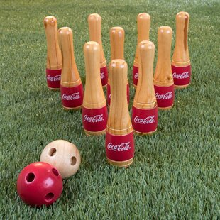 Coca-Cola Lawn Bocce and Bowling Set ByTrademark Games