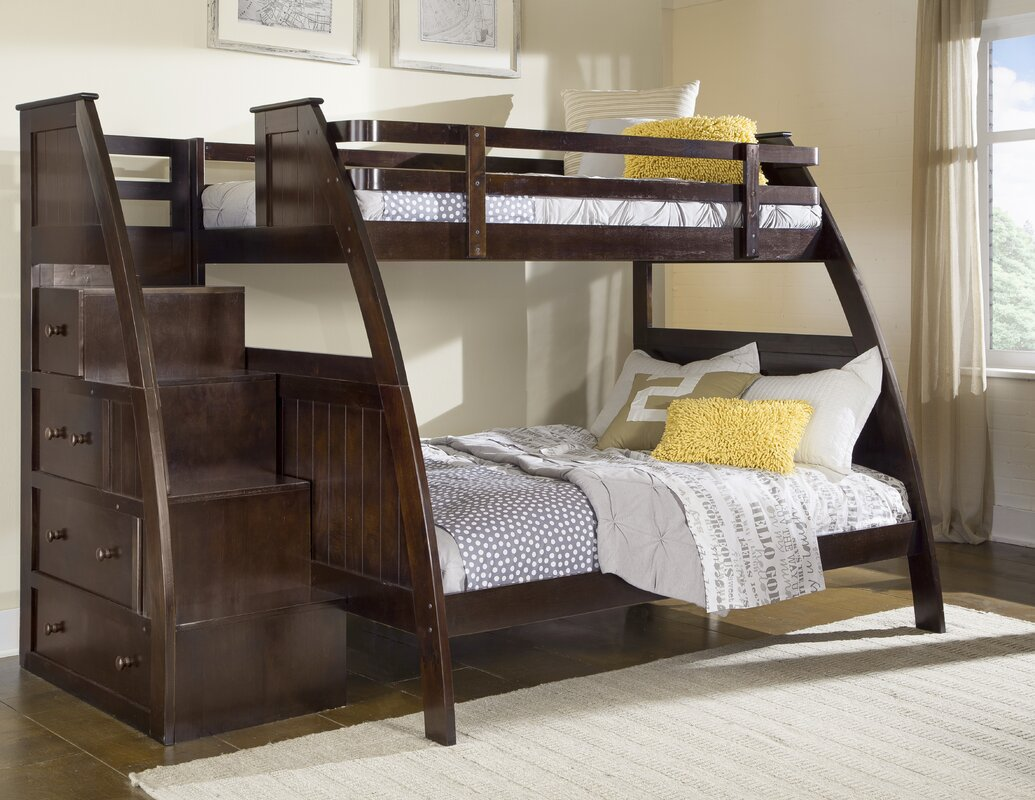 Sebring Twin over Twin Bunk Bed with Storage